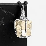 Пирит самородок, серебро, кулон, 814КЛП, фото 2