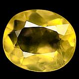 Опал желтый Мексиканский, 3,35 карат, вставка овал, 373КБО, фото 2