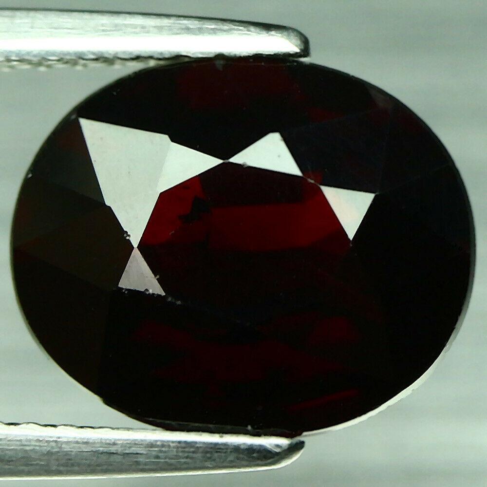 Кабошон гранат гессонит красно-оранжевый, 10,6*9,0 мм, 4,47 карат, 568КБГ
