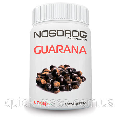 Гуарана Nosorog Nutrition Guarana 60caps