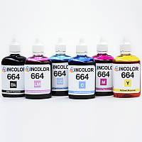 """Чернила для Epson Stylus Photo 900  - комплект чернил 664 """"INCOLOR"""" (6 x 100 мл) BK/C/M/Y/LC/LM  , фото 1"""