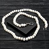 Корал білий, намисто, 343БСК, фото 2