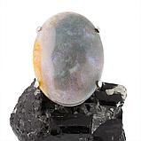 Яшма серая, серебро 925, кольцо, 300КЯ, фото 2