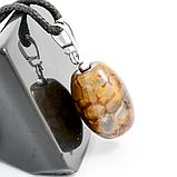 Агат Леопардовый, серебро, кулон, 557КЛА, фото 2
