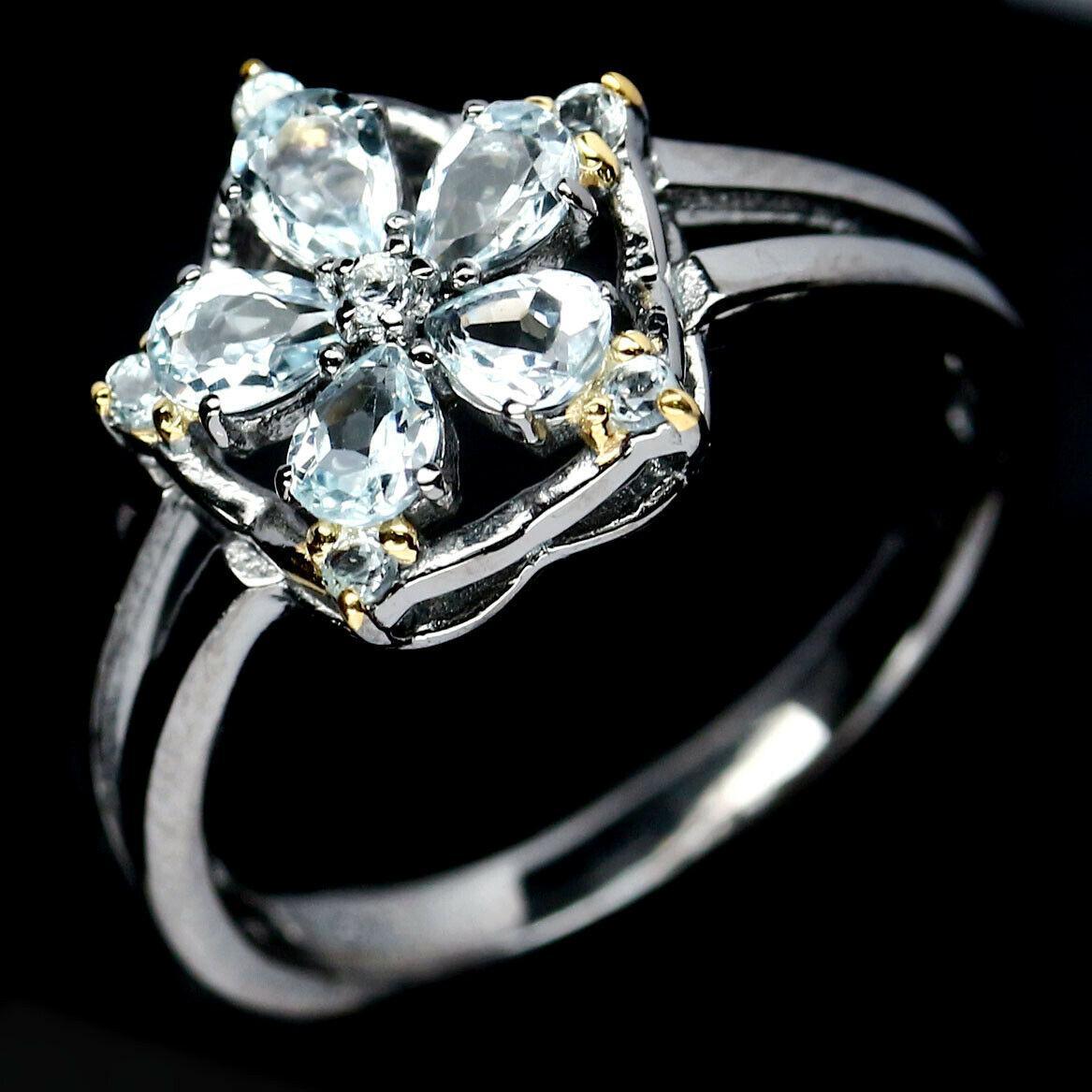 Кольцо из серебра с топазом, 1060КЦТ