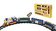 Железная дорога на радиоуправлении Экспресс паровоз 19см, вагоны, музыкальный, светится, 24 дет 0620, фото 5