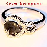 Опал двухцветный, серебро 925, кольцо, 977КО, фото 2