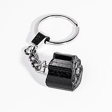 Брелок с шерлом черным турмалином, 107БШ