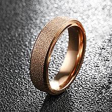 Кольцо из нержавеющей стали, золотистое анодирование, 1196КЖ