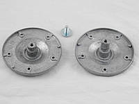 Фланец Whirlpool 2 штуки с валом на 5 дырок (без крепежных болтов) (481252088117) (COD.085)