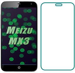 Защитное стекло Meizu MX3 (Прозрачное 2.5 D 9H) (Мейзу МХ3)