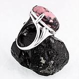 Родонит орлец, серебро 925, кольцо, 219КР, фото 3