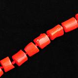 Коралл, бусы, 216БСК, фото 3