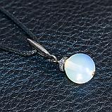 Місячний камінь, срібло, кулон, 505КЛЛ, фото 2