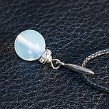 Місячний камінь, срібло, кулон, 505КЛЛ, фото 3