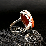 Авантюрин золотой песок, серебро 925, кольцо, 614КА, фото 3