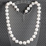Жемчуг белый крупный, Ø12 мм., бусы, 449БСЖ, фото 2