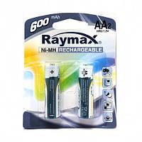 Аккумуляторы   Raymax R06  600 блистер 2шт