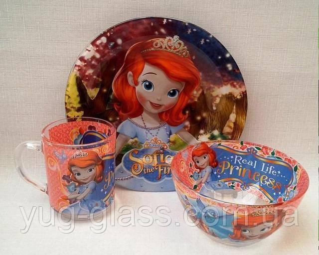 Детская посуда для девочек