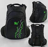 Рюкзак подростковый 1 отделение, 2 кармана, USB кабель