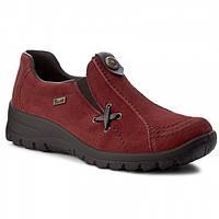 Туфли женские Rieker красный L7171-35