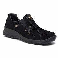 Туфли женские Rieker черные L7171-00