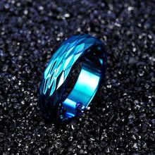 Кольцо из нержавеющей стали, синие анодирование, 1247КЖ