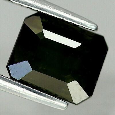 Кабошон турмалин зеленый верделит, 7,8*6,4 мм., 1,67 карат, 694КБТ