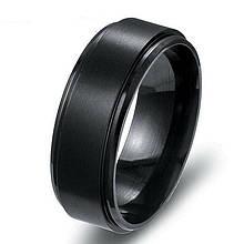 Кольцо из нержавеющей стали, черное анодирование, 1356КЖ