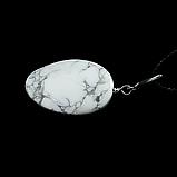 Кахолонг, серебро 157КЛК, кулон, фото 2