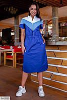 Женское стильное платье больших размеров