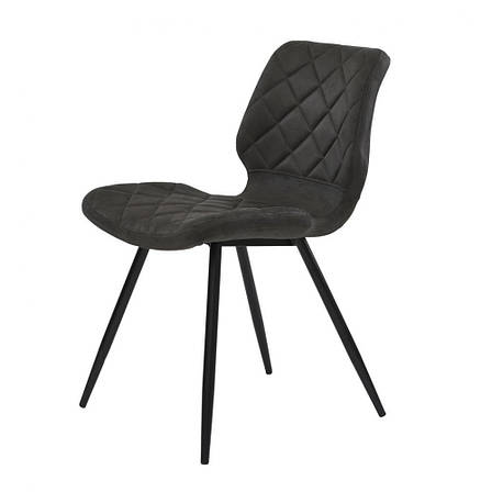 Diamond (Даймонд) стул обеденный текстиль графит оил, фото 2