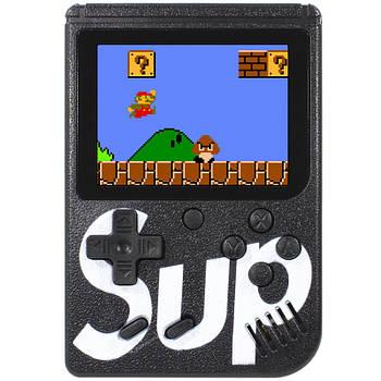Портативная игровая приставка Ретро Sup Game box Black экран 3 дюйма LCD 400 в 1 игры приставка dendy