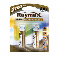Аккумуляторы  Raymax R06 2700 блистер 2шт