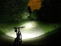 Мощный сверх яркий велосипедной тактический фонарик + вело крепление и комплект Bailong Police BL-8628