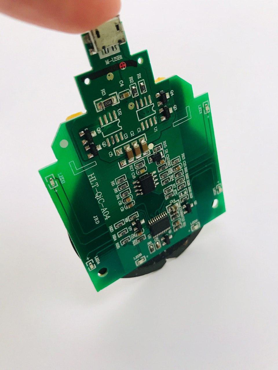 Беспроводной модуль зарядки A04/ Универсальная беспроводная зарядка Apple, Xiaomi, Samsung, Huawei 5W - фото 4