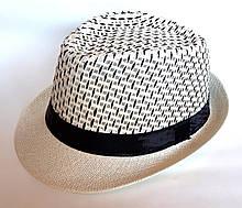 """Шляпа """"Челентанка"""" с черной ниткой (58 см)"""