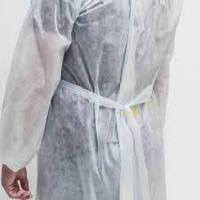 Халат медицинский на завязках белый, 30 г/м2