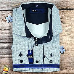 Світла сорочка для хлопчика в школу Воріт: від 28 по 36 (20528)