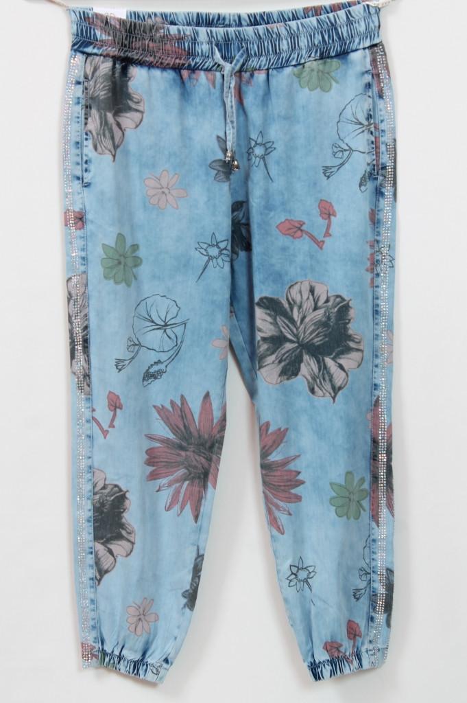 Турецкие женские летние джинсы больших размеров 48-56