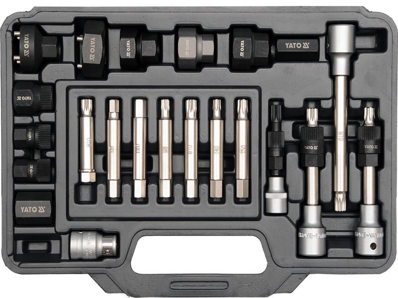 Набор инструмента для ремонта автомобильных генераторов Yato YT-04211