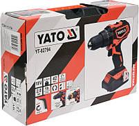 Двухскоростной аккумуляторный дрель-шуруповерт Yato YT-82794, фото 4