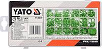 Набор из 270 маслобензостойких каучуковых уплотнительных колец YATO YT-06879, фото 2