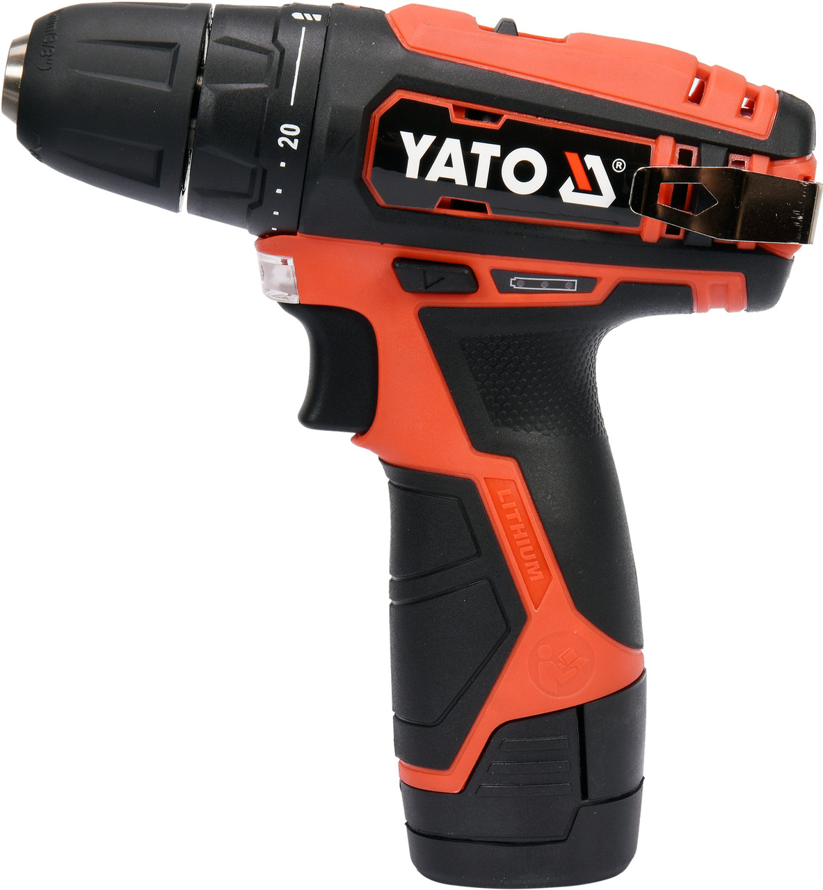 Шуруповерт аккумуляторный YATO YT-82901