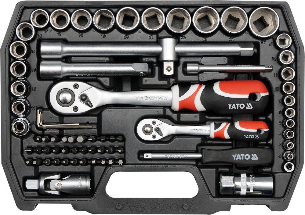 Набор инструментов 72 предметов  YATO YT-38782
