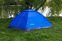 Туристическая Палатка 4-х местная Acamper Domepack 4 Польща, фото 3