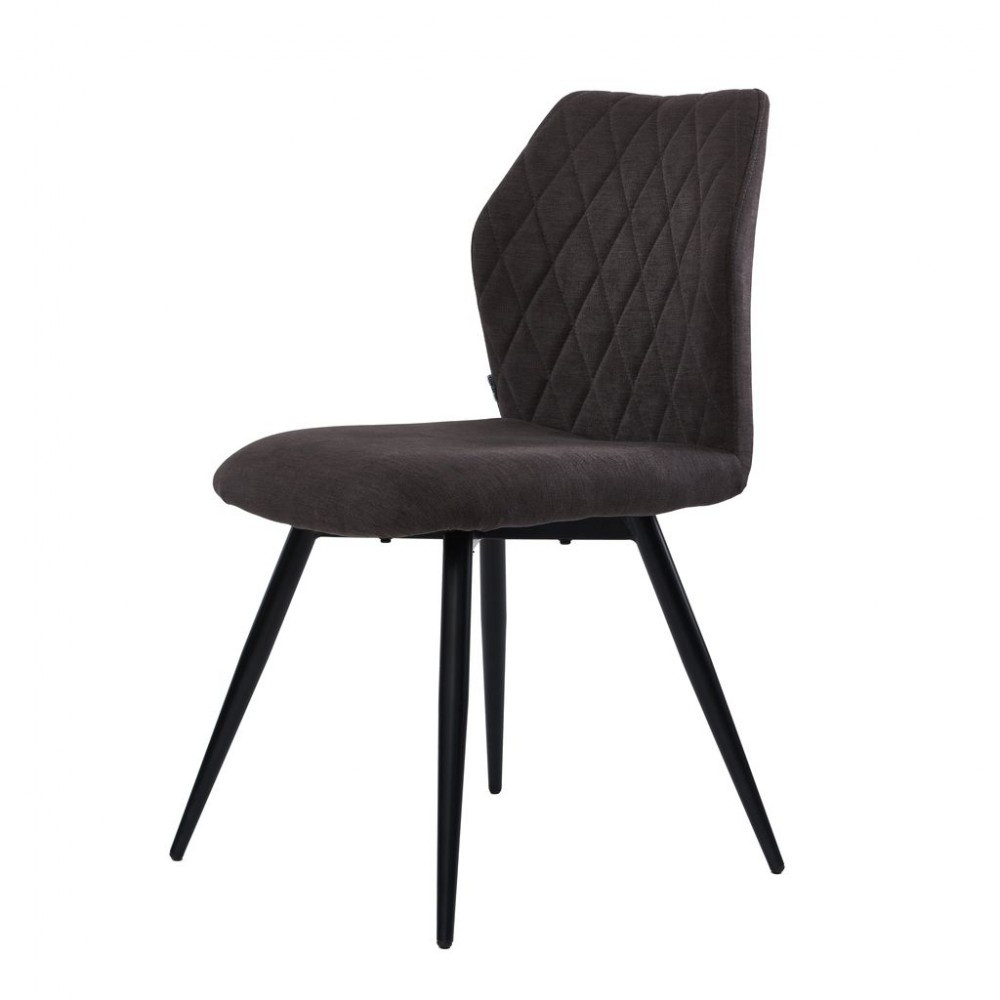 Glory (Глори) стул обеденный  угольный серый
