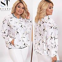 Куртка женская большие размеры по 64 размер Г05269.1, фото 1