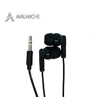 Наушники для телефона проводные вакуумные AVALANCHE MP3-101