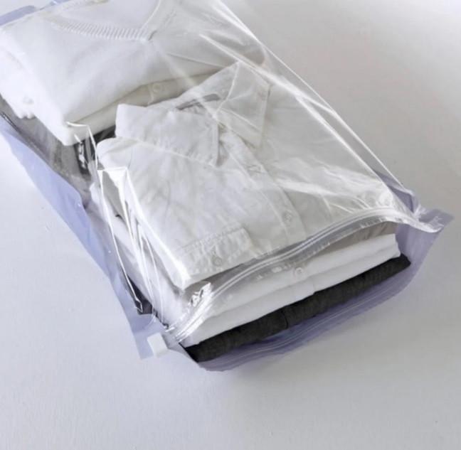 Вакуумный пакет набор 2 шт/уп 35*50 см  (Вакуумные чехлы для хранения одежды)